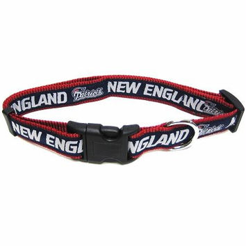 New England Patriots Collar Large