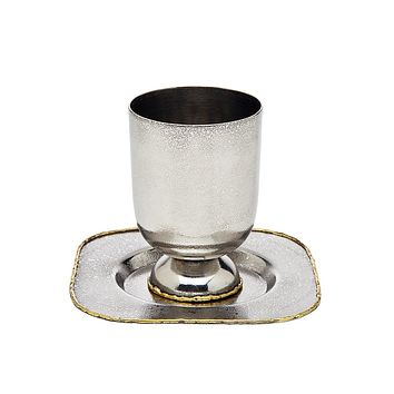 Golden Frost Kiddush Cup/Coast