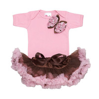 "Girls Baby Gifts -New Born Baby Clothes- Boutique Girl Clothes-Newborn Baby Tutu- Baby Tutu Sets-Bella Bowtique Tutu ""Trendy Baby Clothes"""
