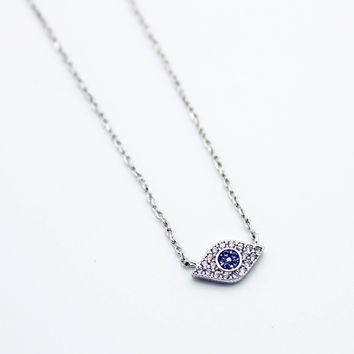 Eye mini anklet