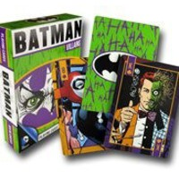 COMIC PLAYING CARDS DC OR MARVEL
