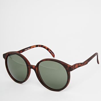 Pieces Jeanne Round Sunglasses
