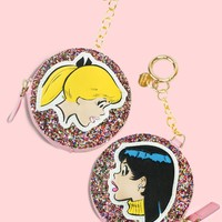 Best Friends Glitter Coin Purse by Betty & Veronica