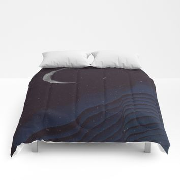 Waxing Cr3sc3nt Glytch Comforters by DuckyB