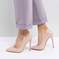 Lost Ink Patent Pumps at asos.com