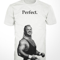 Mr. Perfect Wrestling T-Shirt - wwe wwf wcw wrestlemania tee curt hennig funny mens vintage shirt gift graphic heavyweight villain sports