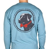 Long Sleeve Original Tee in Retro Blue by Southern Proper