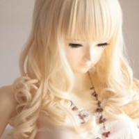 Liz Wig Blonde Long Wavy Cosplay Wig 26'' 65cm