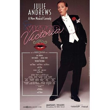 Victor Victoria 11x17 Broadway Show Poster