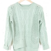 Mint Sweater  | Parc Boutique