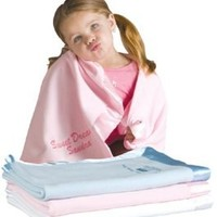 Cashmere/Pashmina Baby Blanket (Pistachio) soft and luxurious in 4 baby colors (Pistachio)
