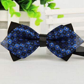 Classic Bow Tie Men Women Adjustable Tuxedo Bowtie Wedding Party Ties Necktie  SM6