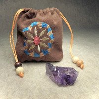 DoeHill Pouch ~ With Fluorspar