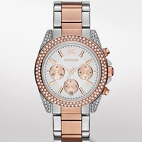 GLENDALE PAVE EMBELLISHED CHRONOGRAPH WATCH