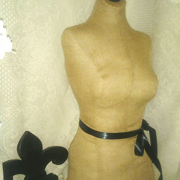 French Boutique Dress form burlap mannequin female torso, craft show, booth, store front, jewelry display, photo prop, clothing,