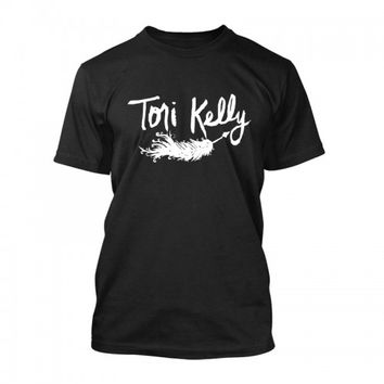 Cinder Block | Cinder Block Store Tori Kelly Featherquill Unisex T-Shirt (Black)