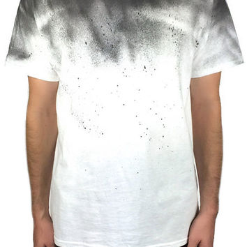 The Paint Dip Tee in White