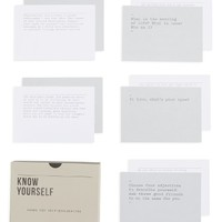 The School of Life Know Yourself Prompt Cards | Nordstrom