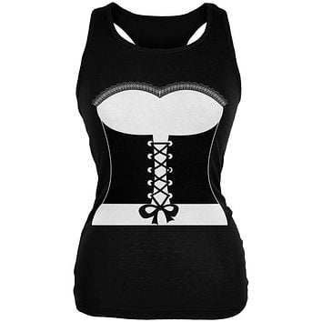Halloween French Maid Costume Juniors Soft Tank Top