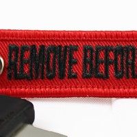Remove Before Flight - Mini Key Tag