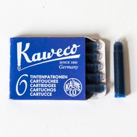 Kaweco Refill Fountain Pen Ink Cartridges 6 pack Royal Blue