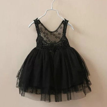 lace tutu with low back toddler girls black tutu dress 18M, 2,3,4,5 years toddler girl dress best tutu