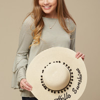 Altar'd State Hello Sunshine Hat - Hats - Accessories