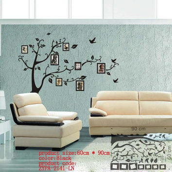 photo tree frame family forever memory tree wall decal decorative adesivo de parede removable pvc wall sticker diy zooyoo94AB SM6