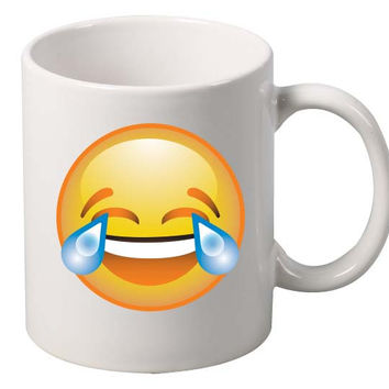laugh Face  Emoji Emoticon Mug