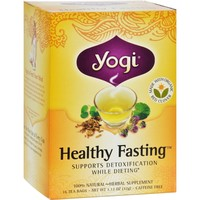 Yogi Tea Healthy Fasting - Caffeine Free - 16 Tea Bags