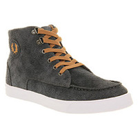 Fred Perry UPCHURCH CHAR RUB WHT Shoes - Fred Perry Trainers - Office Shoes