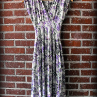 Vintage 90's Foral Grunge Revival Dress Small