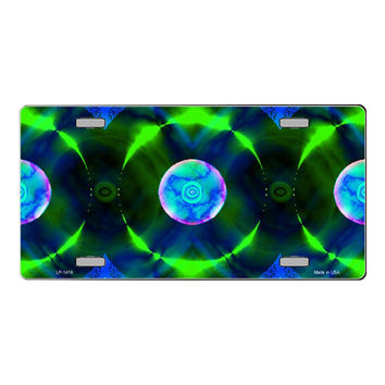Smart Blonde Blue | Green Nova Customizable Vanity Metal Novelty License Plate Tag Sign