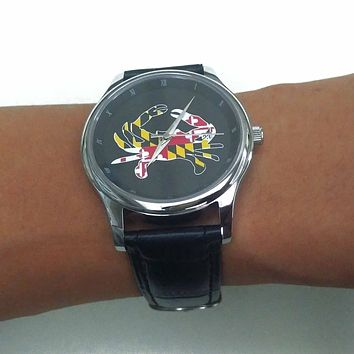 Maryland Full Flag Crab / Watch