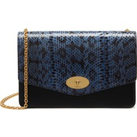 Mulberry Medium Darley Convertible Genuine Snakeskin Clutch | Nordstrom