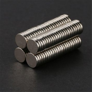 100 pcs 5mm x 1mm Craft Model Disc Rare Earth Neodymium Super Strong Magnets N35 Quality Guaranteed Safe Shipping