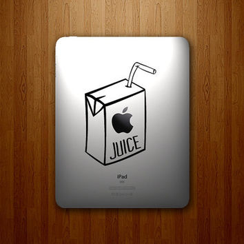 Apple Juice Decal  Juice Box Decal  Apple Juice by DecalLab