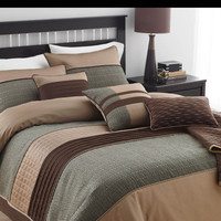 ARLINGTON BEDDING SET QUEEN - 7 PC.