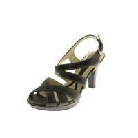 Naturalizer Womens Dhani Leather Criss-Cross Heels