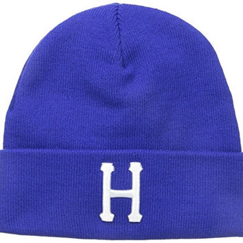 HUF Men's Classic H Beanie, Royal, One Size
