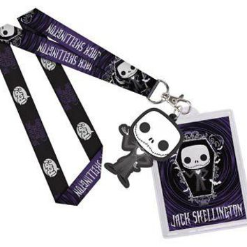 Funko Lanyard Disney Jack Skellington Action Figure