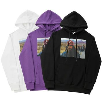 PALACE Woman Men Hooded Top Sweater Pullover Hoodie