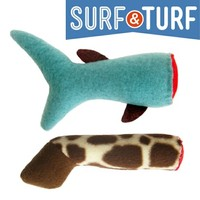Surf and Turf - Severed Things Catnip Toys 2-Pack on the redditgifts Marketplace