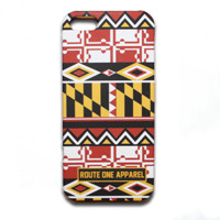 Maryland Flag Geometric Pattern / iPhone 5 Case