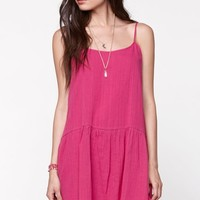 Volcom Shoulda Woulda Dress - Womens Dress - Pink