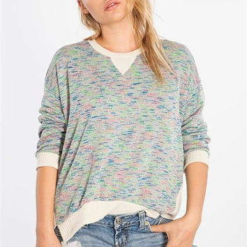 Color Dash Sweater