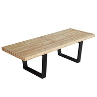 "Solid Wood Bench 48"", Natural"