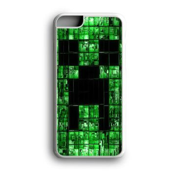 Awesome Black Friday Offer Digital Electric Green Minecraft Creeper iPhone Case | Samsung Case