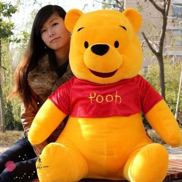 39'' / 100cm Huge Stuffed Cute Soft Plush Giant Winnie Bear Toy, Nice Birthday Gift For Kids, Free Shipping