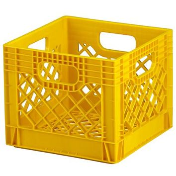 Milk Crate (Yellow) in Under $10 | The Land of Nod